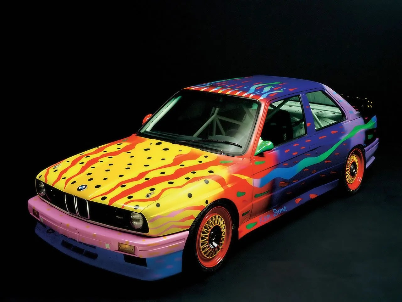 Ken Done BMW Art Car