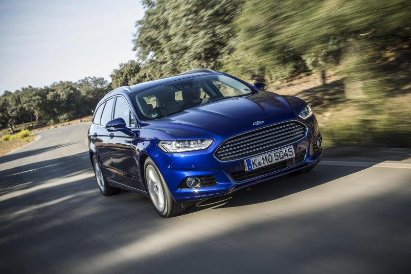 The Ford Mondeo Estate from 2015