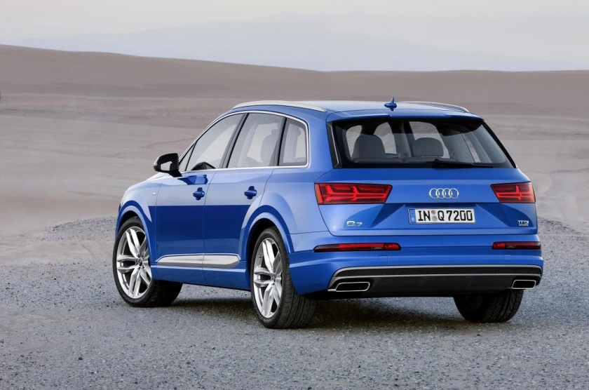 The Audi Q7 is an epic large SUV!