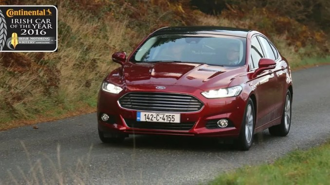 Ford Mondeo Irish Car Of The Year ChangingLanes.ie