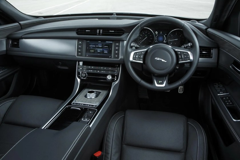 Inside the Jaguar XF