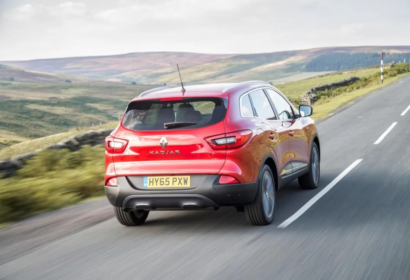 The Kadjar is a great value family SUV