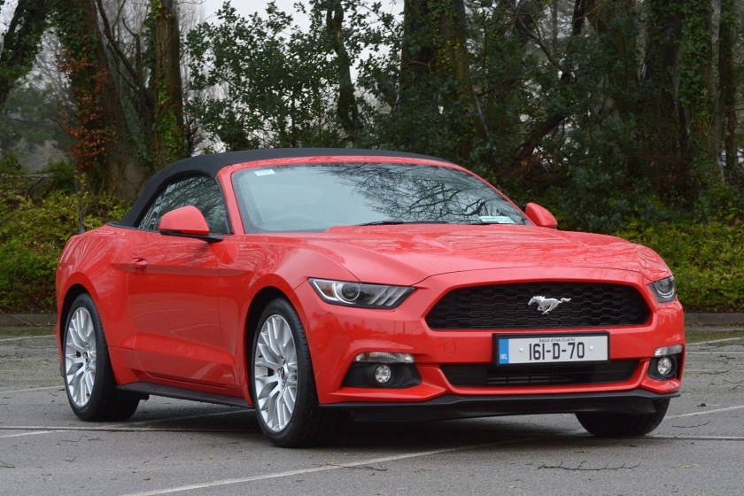 The Ford Mustang 2.3-litre EcoBoost