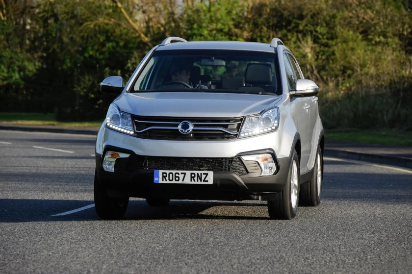 The 2016 Ssangyong Korando