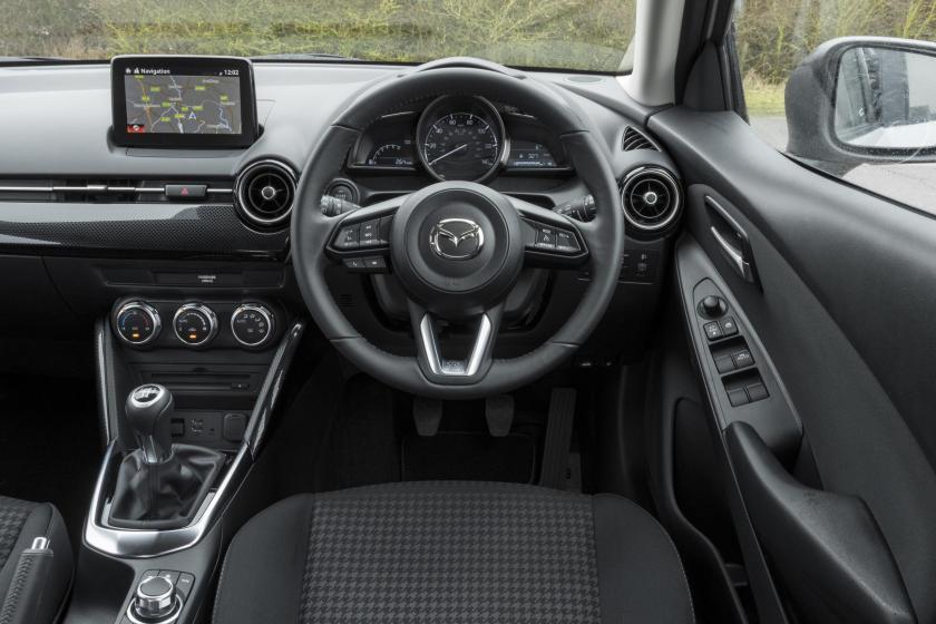 Inside the 2016 Mazda2