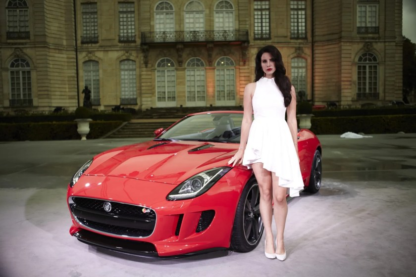 celebrity car endorsements jaguar and lana del rey