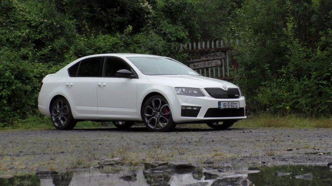 skoda octavia rs review ireland