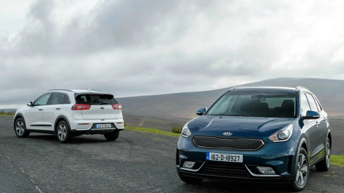 kia niro hybrid arrives in ireland changing lanes. Black Bedroom Furniture Sets. Home Design Ideas