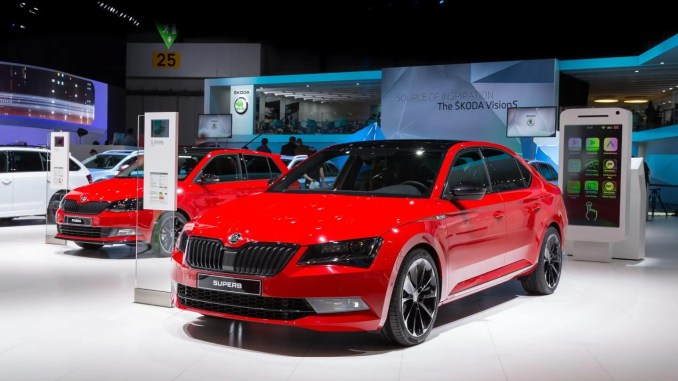 Skoda Superb Sportline Ireland