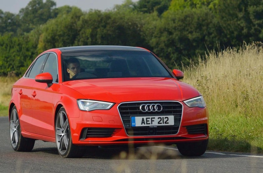 The new Audi A3 Saloon