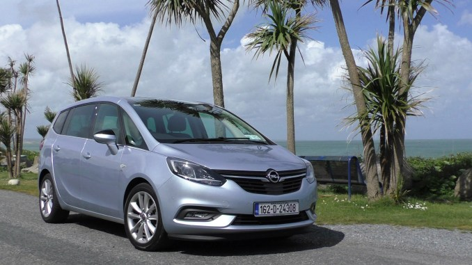 2017 Opel Zafira Tourer Review Ireland