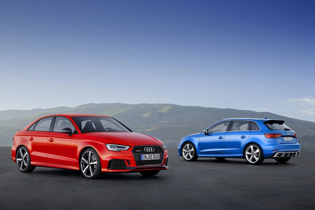 Pricing For New Audi RS3 Saloon