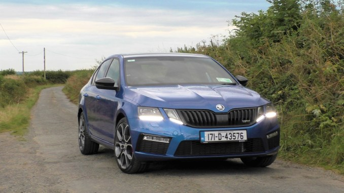 2017 Skoda Octavia RS TDI review ireland