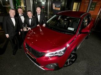 Irish Car of the Year 2018 Peugeot 3008
