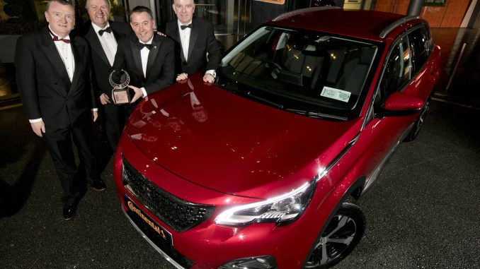 Irish Car of the Year 2018 Peugeot 3008