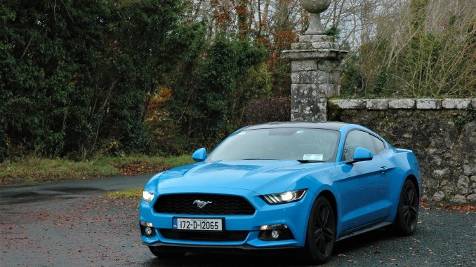 Ford Mustang Coupé review ireland