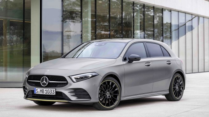 The new Mercedes-Benz A-Class will arrive in Ireland at the end of June