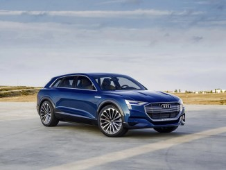2019 Electric Audi SUV