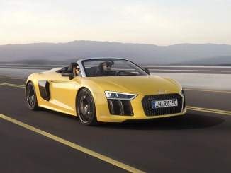 The new Audi R8 Spyder V10