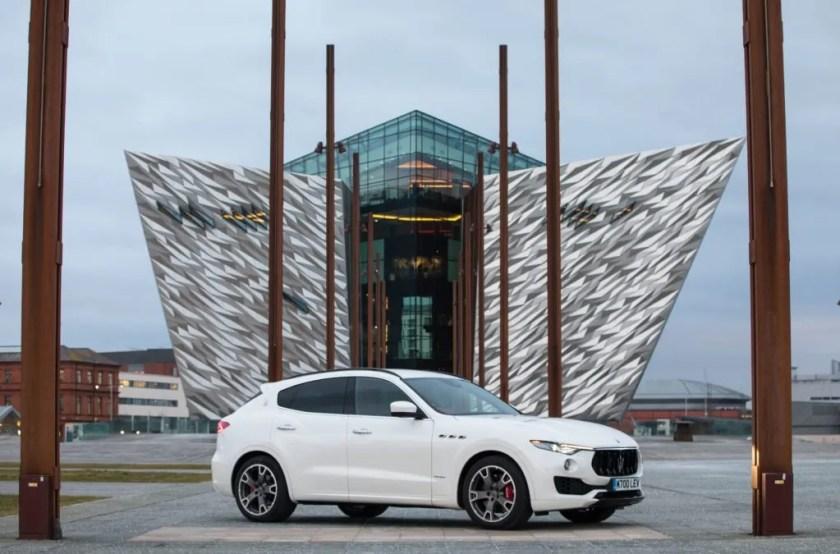 The Maserati Levante S in Belfast