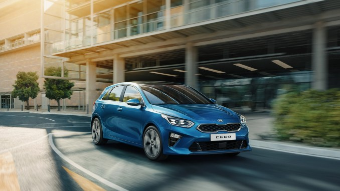 The new 2018 Kia Ceed