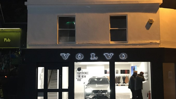 Volvo pop-up shop dublin