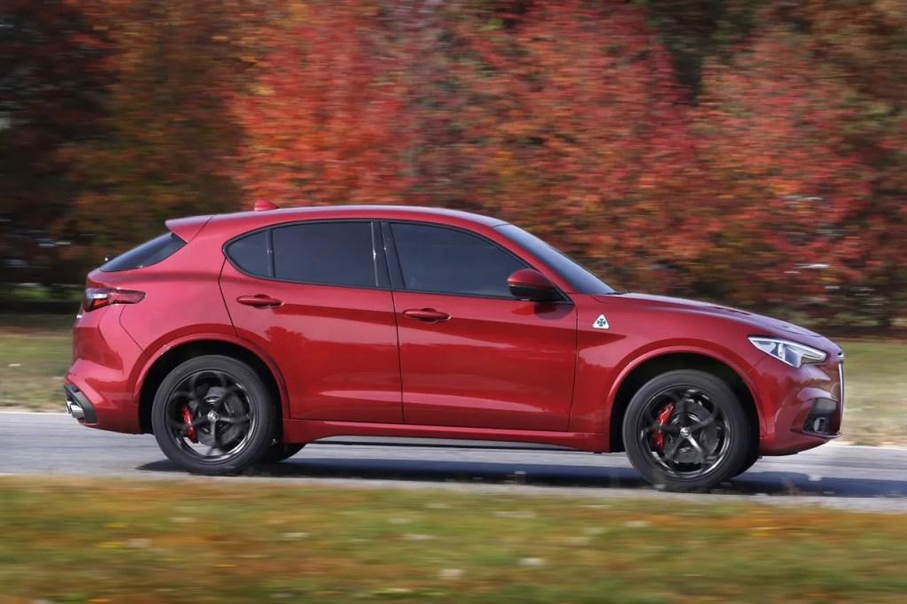 Alfa Romeo Stelvio Quadrifoglio Irish Pricing Changing Lanes
