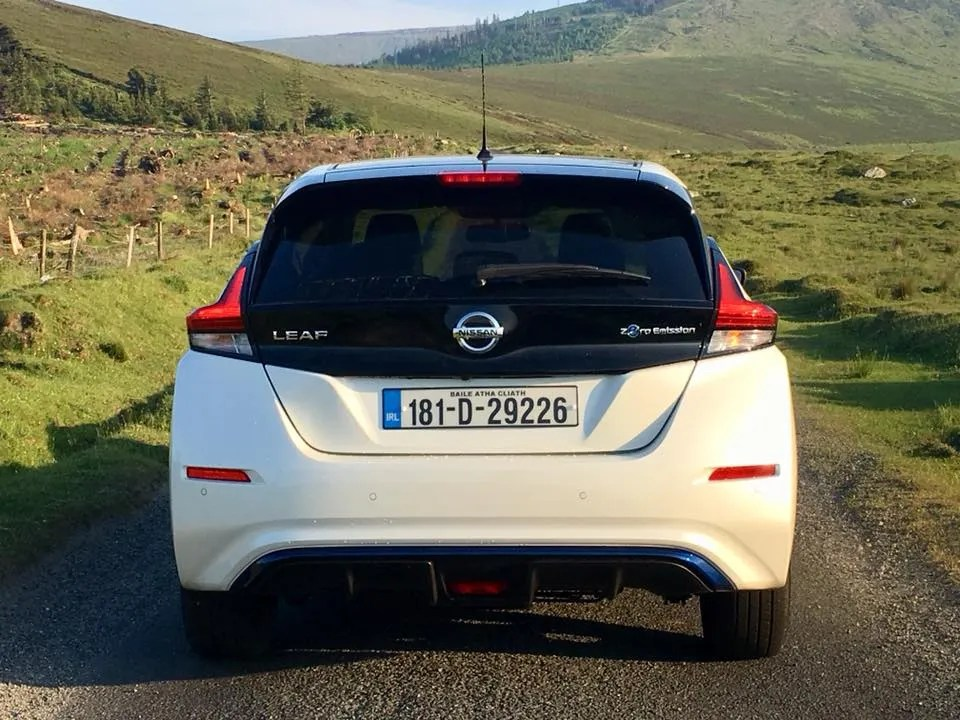 The new Nissan Leaf range starts from €26,290 in Ireland