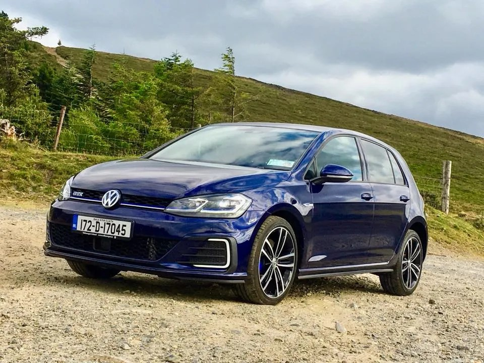 The Volkswagen Golf GTE