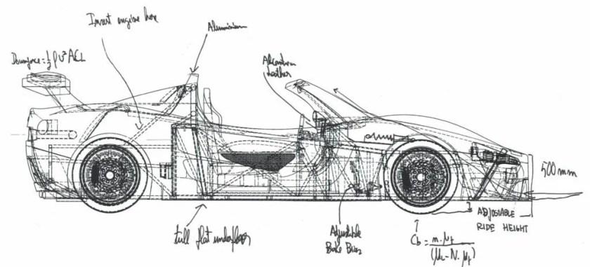 The Adamastor sports car P003RL
