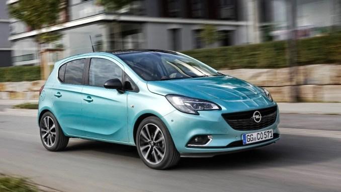 The Opel Corsa
