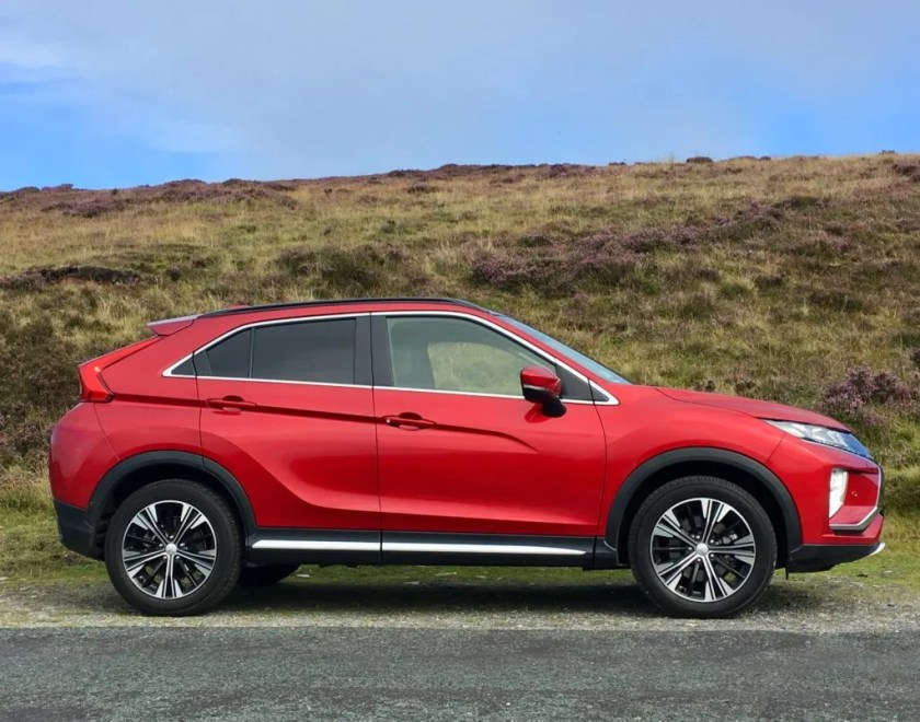 The Mitsubishi Eclipse Cross is pitched as a stylish SUV-coupé