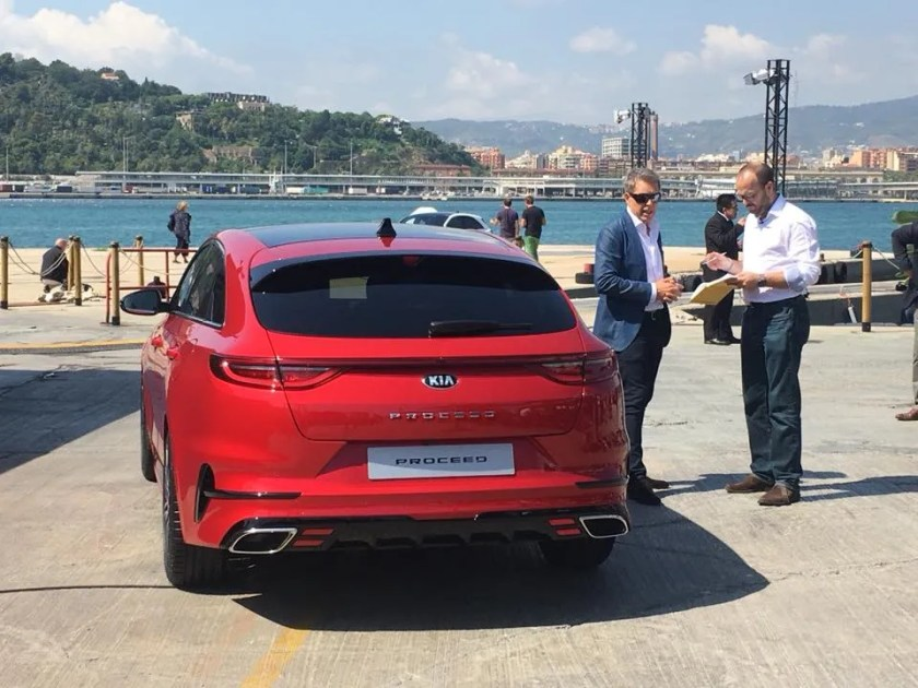 The new Kia ProCeed is expected in Ireland early in 2019