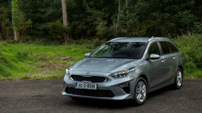 The new Kia Ceed SW estate has arrived in Ireland