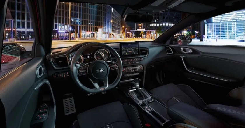 The interior of the new Kia ProCeed