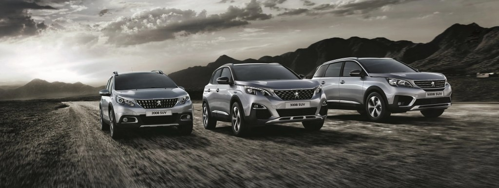 Sales of SUVs are booming, with brands like Peugeot really enjoying their popularity