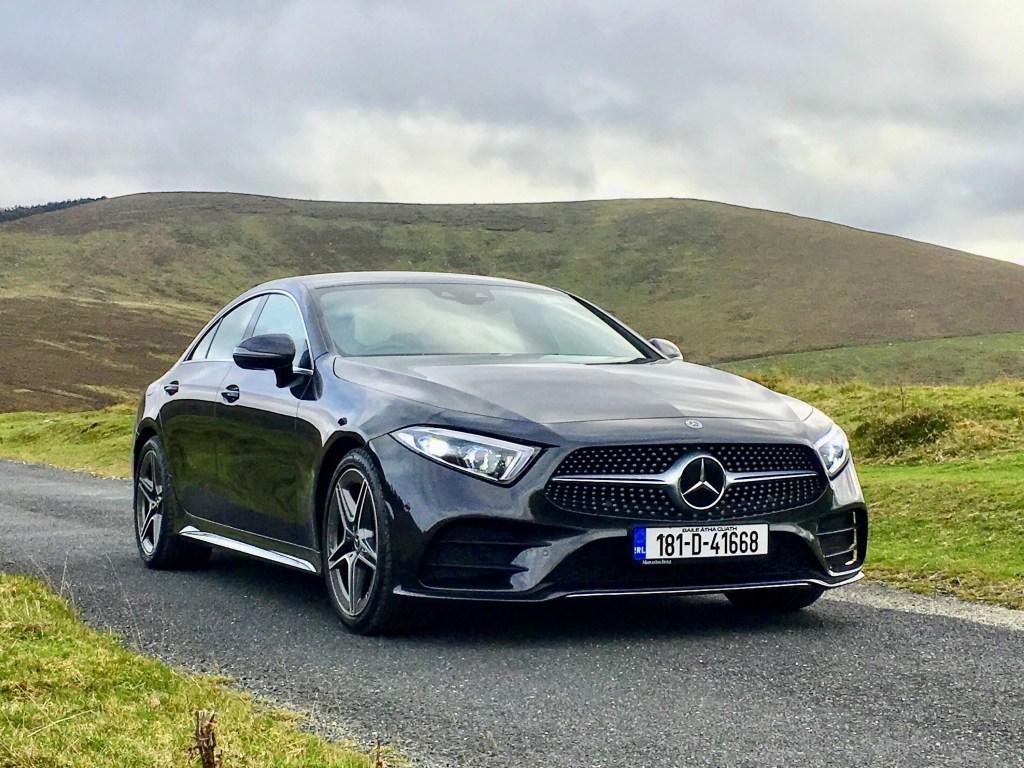 The new Mercedes-Benz CLS Coupé
