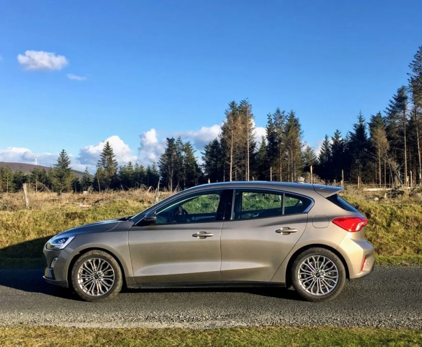 The 1.0-litre EcoBoost petrol engine is a great match for the new Ford Focus
