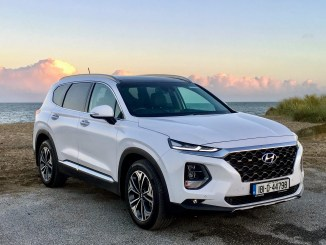 The 2018 Hyundai Santa Fe is on sale in Ireland from €41,995
