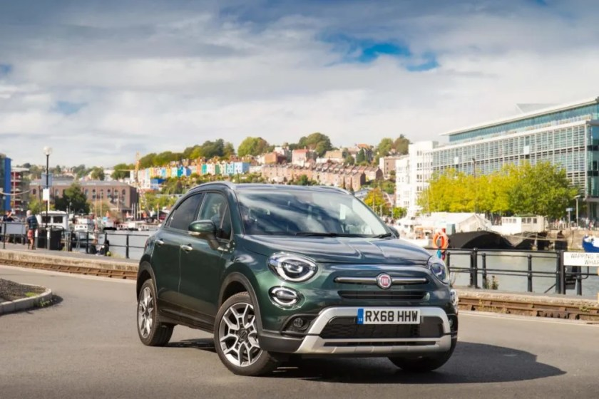 The updated Fiat 500X