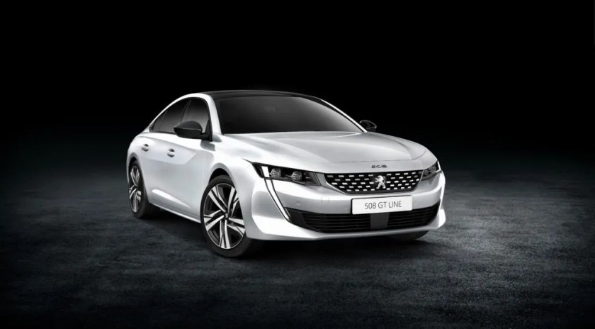 The new Peugeot 508