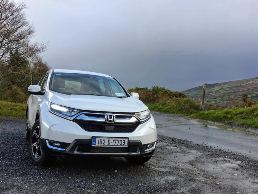 The new Honda CR-V goes on sale in Ireland priced from €33,500
