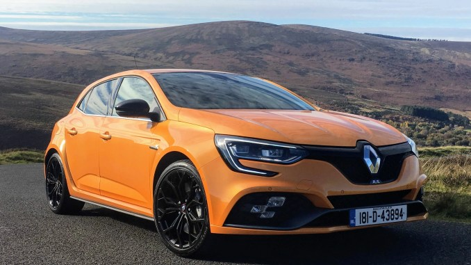 The new Renault Mégane R.S. is now on sale in Ireland