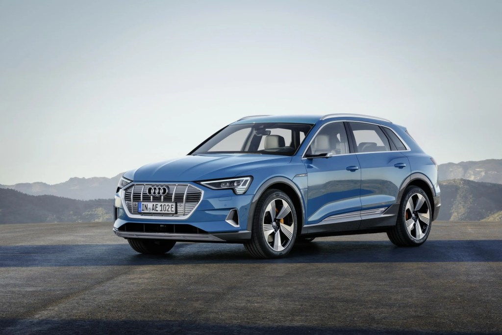 The new Audi e-tron will be a high profile arrival in Ireland in 2019