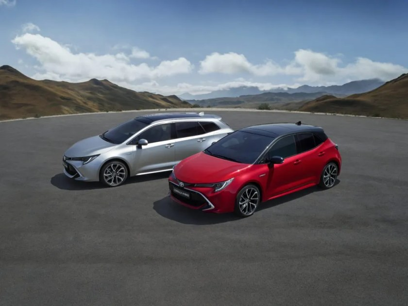 The new Toyota Corolla Hatchback and Touring Sports