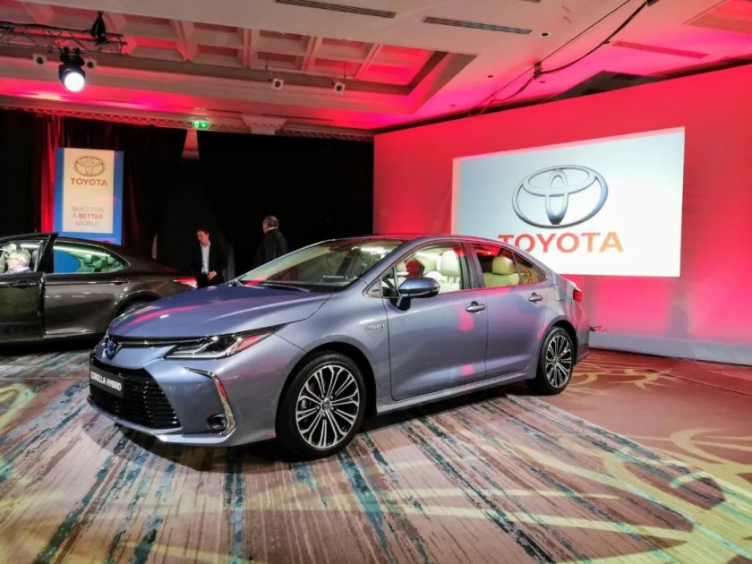 The new Toyota Corolla Saloon