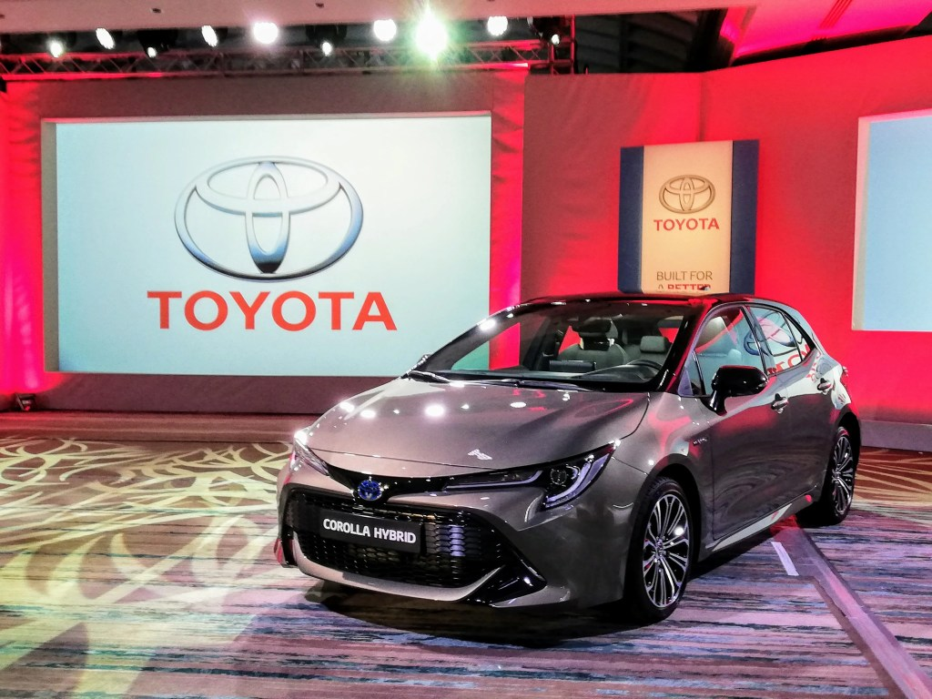 The Toyota Hybrid Roadshow will be an opportunity to view the new 2019 range including new Corolla