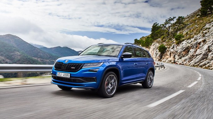 The new ŠKODA Kodiaq RS