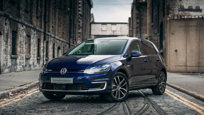 The new Volkswagen e-Golf Executive Edition