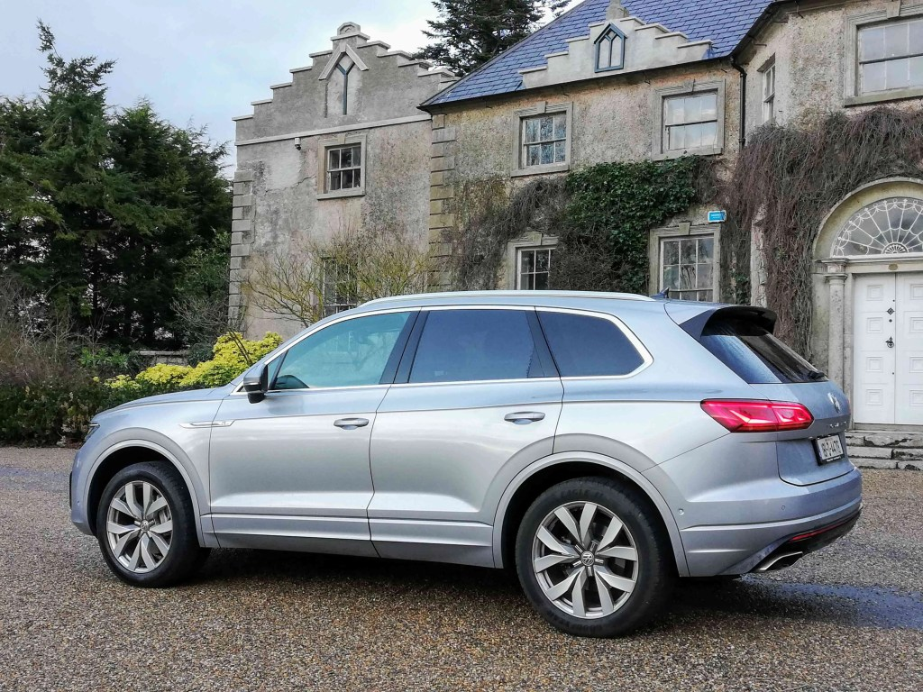 The new Volkswagen Touareg is a strict five seater